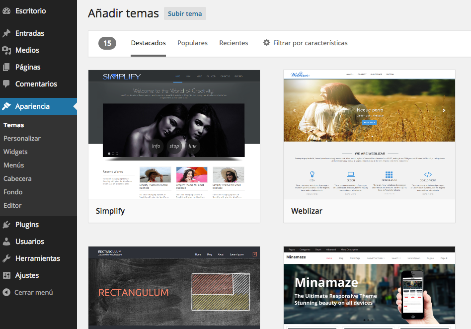 subir-tema-wordpress
